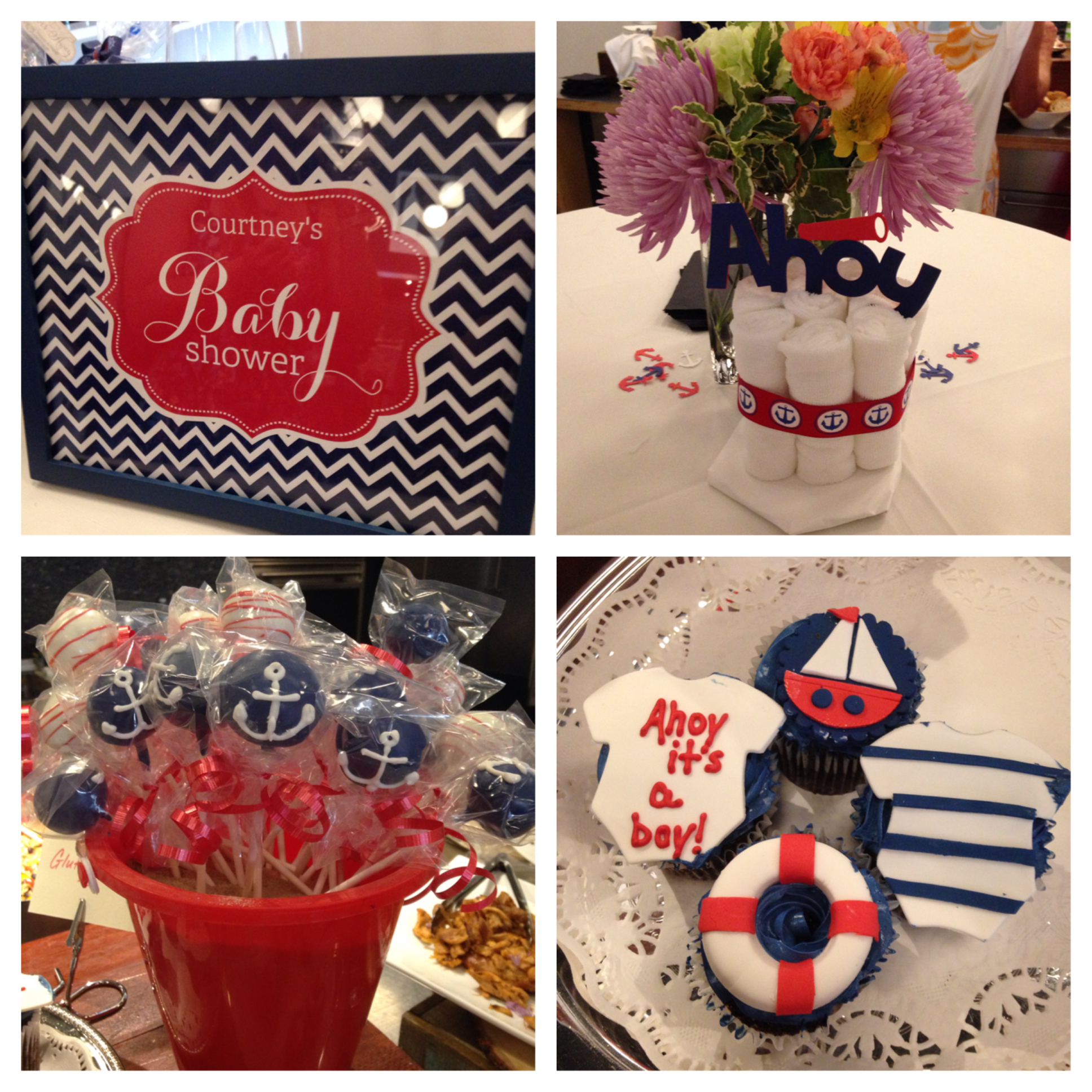 Weekend recap more italian food and nyc young ish for Baby shower nautical decoration