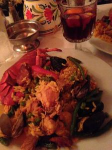 Sangria and Paella at Tio's