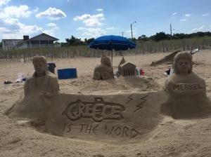 Greek Sand Castle