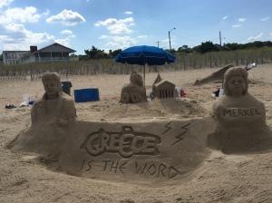 Greek Sand Castle