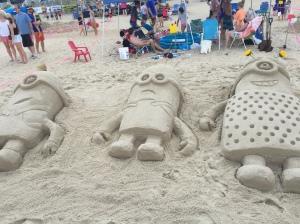Minions Sand Castle