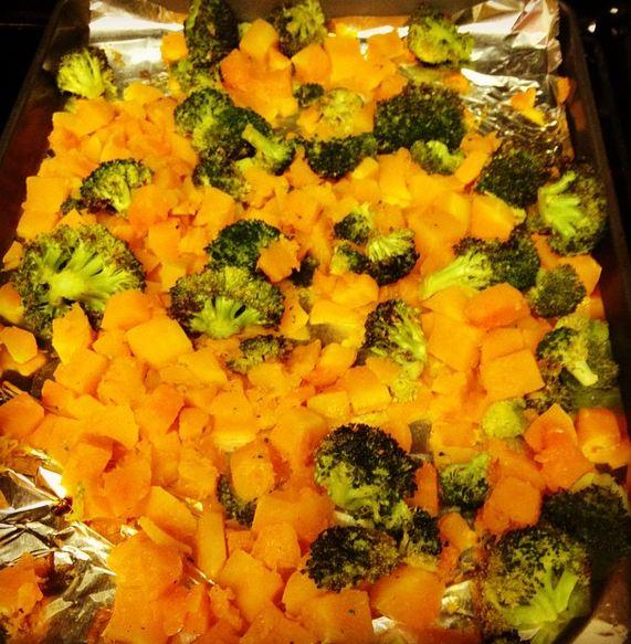 Roast Fall vegetables squash
