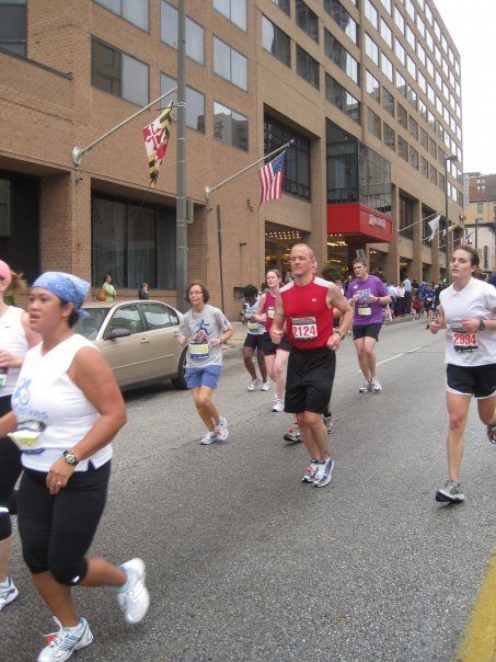 running marathon baltimore