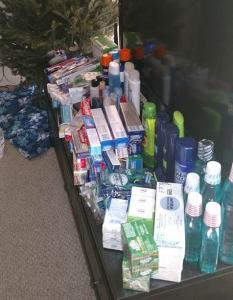 Toiletry Donations for Baltimore Station