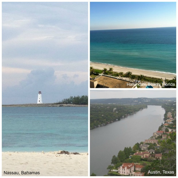 Warm vacation destinations