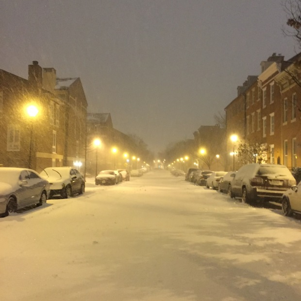 Blizzard baltimore