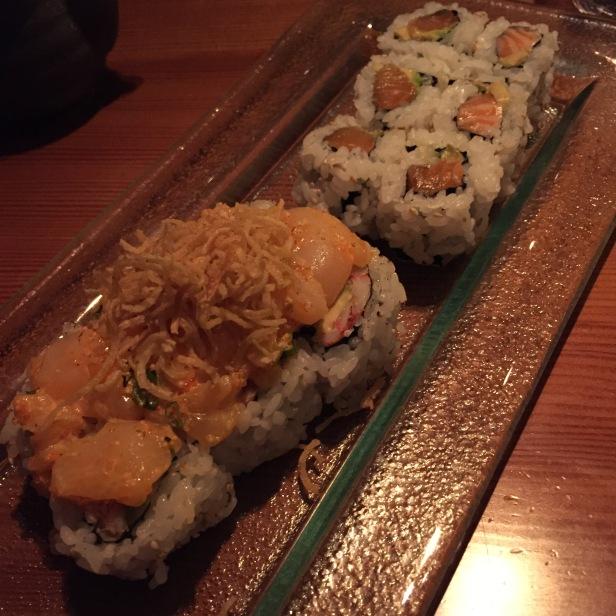 azumi sushi rolls