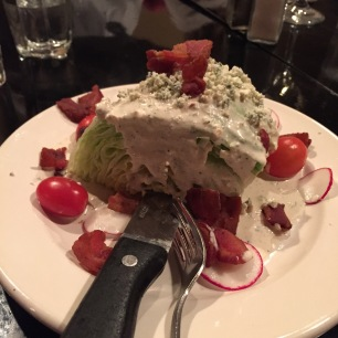 rays the steaks steakhouse wedge salad