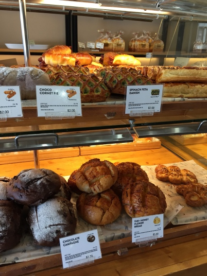 bakery pastries and breads tous les jours